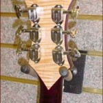 Custom Made Hand Crafted Electric Guitar HML Howard Leese Modle With Cherry Stain Back Headstock JPGuitars.com.jpg