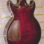 Custom Made Hand Crafted Electric Guitar HML Howard Leese Modle With Cherry Stain Back JPGuitars.com