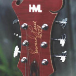Custom Made Hand Crafted Electric Guitar HML Howard Leese Modle With Cherry Stain Front Headstock JPGuitars.com.jpg