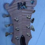 Custom Made Hand Crafted Electric Guitar HML Howard Leese Modle With Natural Finish Headstock 2 JPGuitars.com