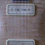 Custom Made Hand Crafted Electric with f-hole and quilted maple top Custom Pickups JPGuitars