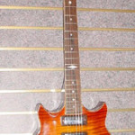 Custom Made Hand Crafted Guitar Pearl Inlay HML Howard Leese Sunburst JPGuitars.com