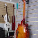 Custom Made Hand Crafted Guitar Pearl Inlay HML back Sunburst JPGuitars.com