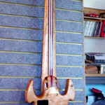 Custom Made Hand Crafted Seven String Bass Guitar Back JPGuitars
