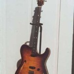 Custom Made Hand Crafted Teli Style Guitar With Sunburst and F-Hole Electric JPGuitars.com