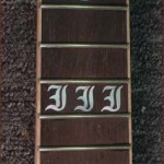 JP Guitars Custom Guitar Pearl Inlays Abalone Inlays Wood Inlays Guitar Fretboard Letter Pearl Inlay Sun Cartoon Inlay Paw Print Inlay