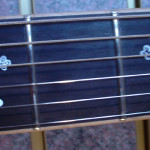 JP Guitars Custom Guitar Pearl Inlays Abalone Inlays Wood Inlays Ornate Cross Pearl Inlay On Fretboard Electric Guitar