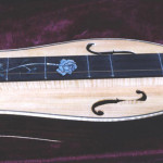 JP Guitars Pearl Flower And Vine Inlay On Musical Instrument Fretboard