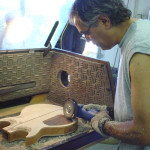 JP Guitars Sanding And Shaping A Custom Hand Crafted Guitar jpguitars.com